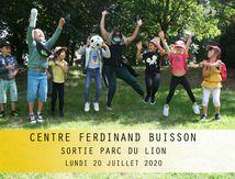 CENTRE F.BUISSON-SORTIE PARC DU LION-20 Juillet 2020