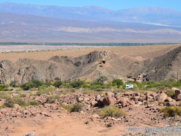 Fiambala, Argentine en camping-car