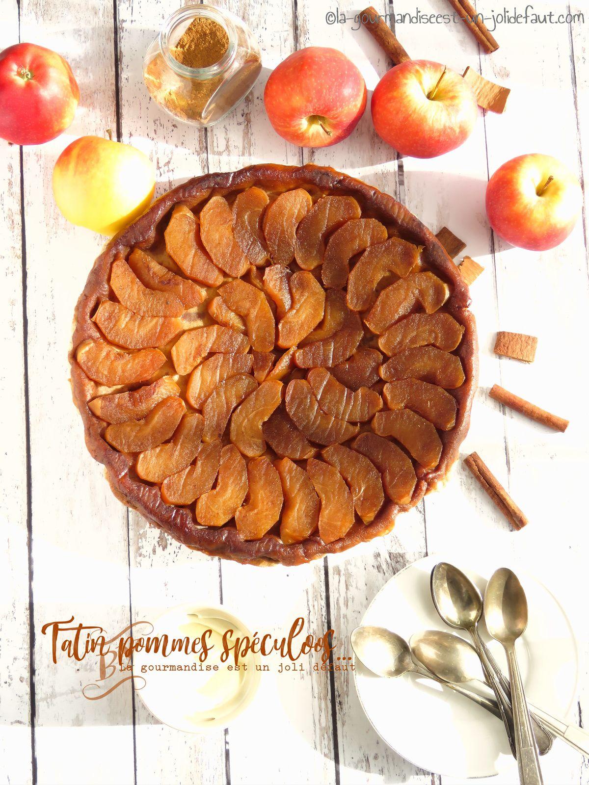 Tarte tatin aux pommes saveur spéculoos