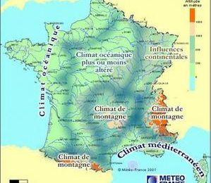 Le climat en Bourgogne...
