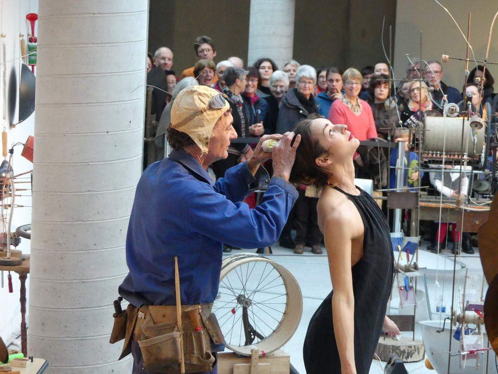 Interaction entre le créateur François Klein et la danseuse Anne Marion
