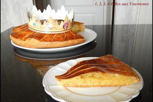 Galette des rois à la frangipane  (recette de Cyril Lignac)