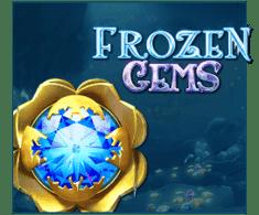 machine a sous mobile Frozen Gems logiciel Play'n Go