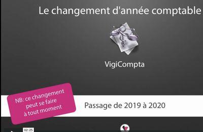 Comment faire le changement d'année dans VigiCompta ?