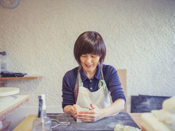 Yuko Kuramatsu, céramiste japonaise