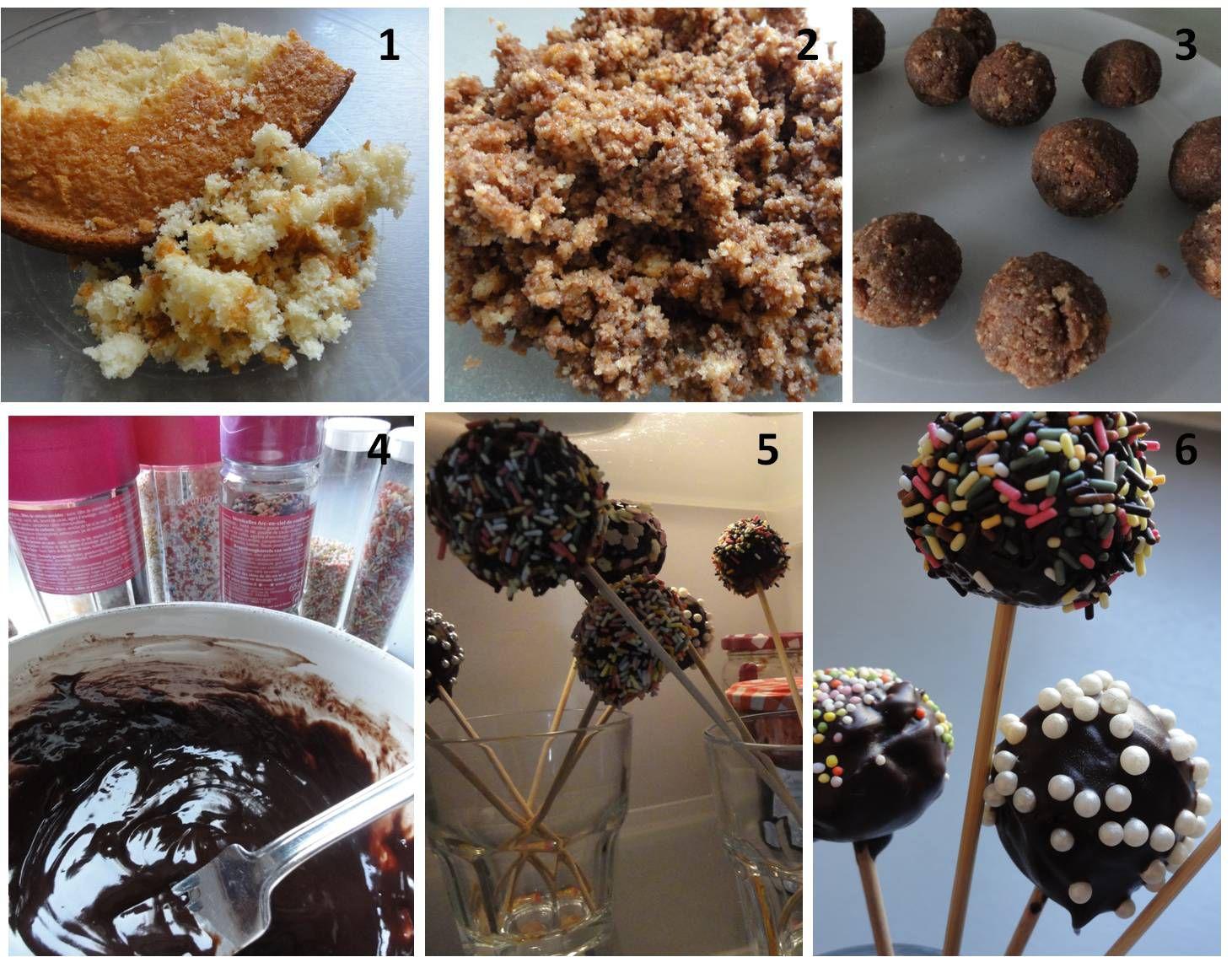 Cake Pop au Nutella {recette express}