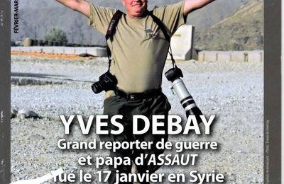 Archives Milinfo - 29 mai 2013 : le magazine Assaut ne survivra pas à Yves Debay