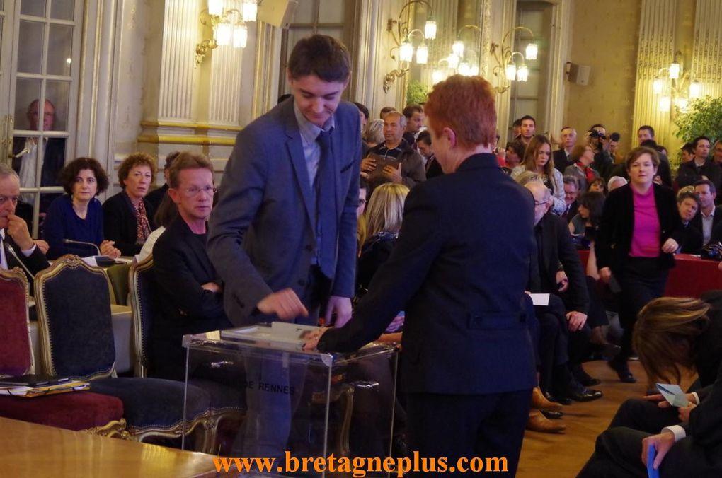 Ce vendredi 4 avril, Nathalie Appéré à été élue Maire de Rennes