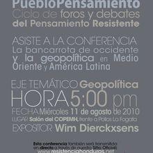 Honduras: Foro Pueblo Pensamiento