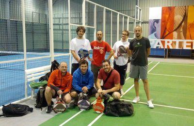 The padel team!