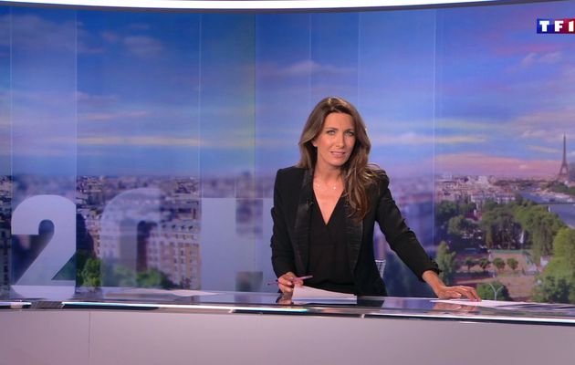 📸25 ANNE-CLAIRE COUDRAY @ACCoudray @TF1 @TF1LeJT pour LE 20H WEEK-END #vuesalatele