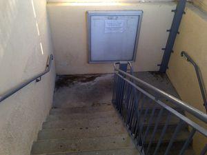 Parking souterrain refait à neuf: C'est faux