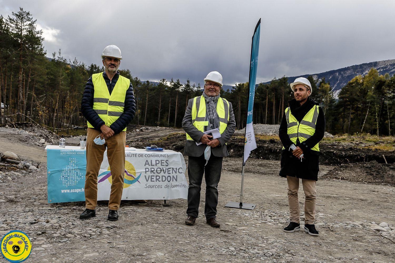 Présentation du projet de ZAE de la CCAPV sur le secteur de Villars Colmars