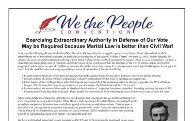USA : le général Flynn appelle à suspendre la Constitution