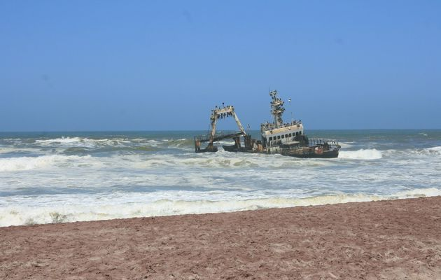 Cape cross et la skeleton coast