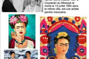 Fiche artiste Frida Kahlo chez Sylvie L