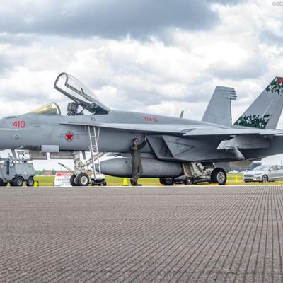 "Boeing F/A-18E ""Super Hornet"" - Strike Fighter Squadron 25 (VFA-25) ""Fist of the Fleet"" - CAG bird 2021 ""Digital Agressor"""