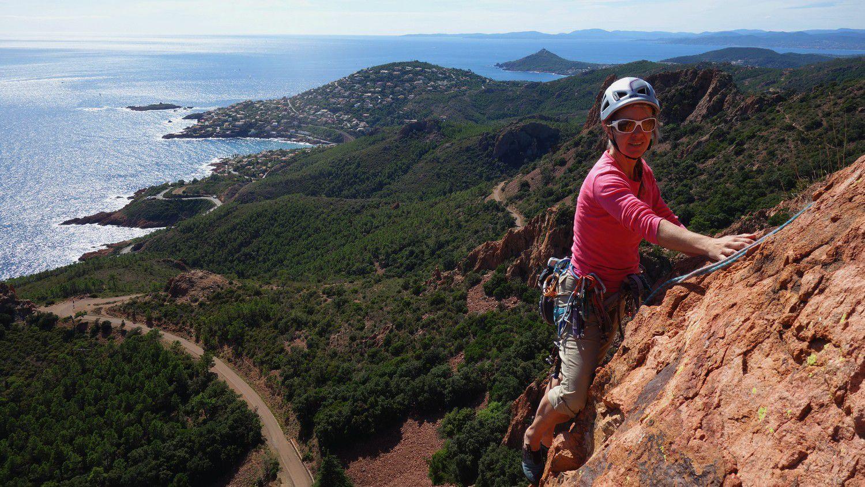 Il faut dire que grimper sur ces rochers est un plaisir dont on ne lasse jamais