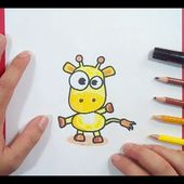 Como dibujar una jirafa paso a paso 2 | How to draw a giraffe 2