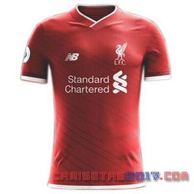 Camiseta Liverpool Primera 2017-2018 exposición | Camiseta primera 2017-18 del Liverpool |  camisetas baratas de futbol 2017 €14.9