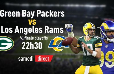 Los Angeles Rams @ Packers Green Bay en direct samedi sur la chaîne l'Equipe !