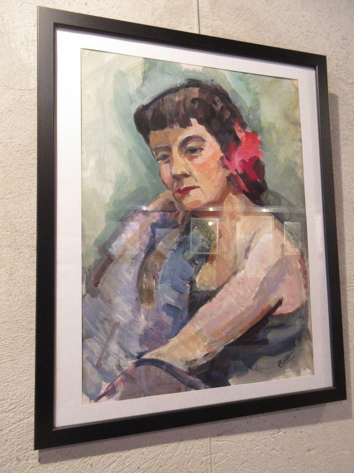 Du 19 AOÛT au 12 SEPTEMBRE 2020, les œuvres de Raymond HUBERT étaient exposées à Buis-les-Baronnies