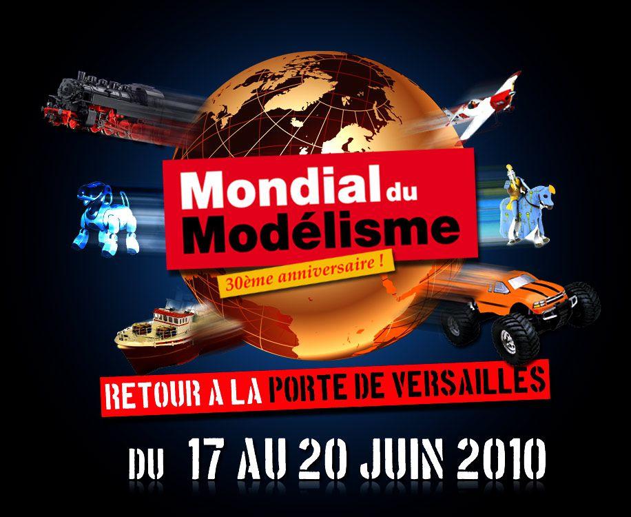 Mondial du Modélisme - Paris Porte de Versailles - Jeudi 17 juin 2010.