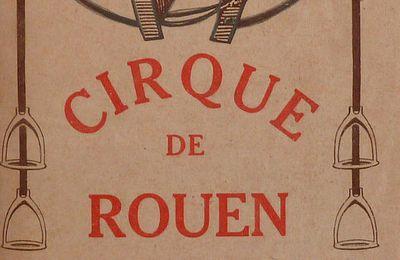 Il y a 92ans au cirque Rouen