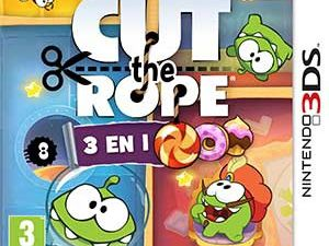 Jeux video: Cut The Rope 3 en 1 sur 3DS