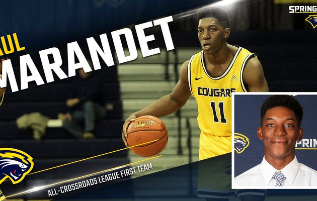 NAIA : Paul Marandet nommé dans le All-first Team de Crossroads League