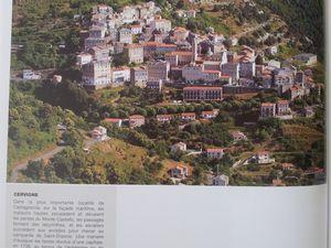 Cervione en Castagniccia.