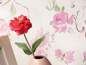 Floral dance ou danse de fleurs, une collection de papiers peints vinyles de Lutèce