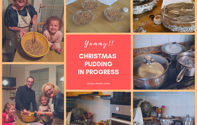 Chronique de Grand-WowMa {Christmas Pudding}