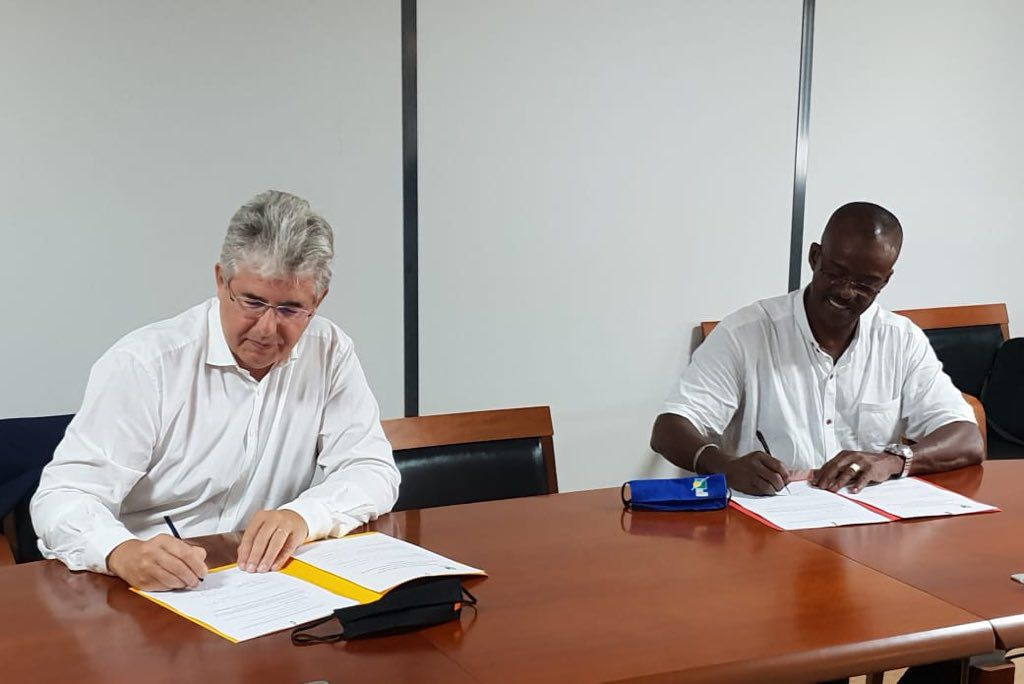 Orange signe avec la Région un contrat pour la location de capacités sur le câble sous-marin raccordant les îles du Sud à la Guadeloupe !