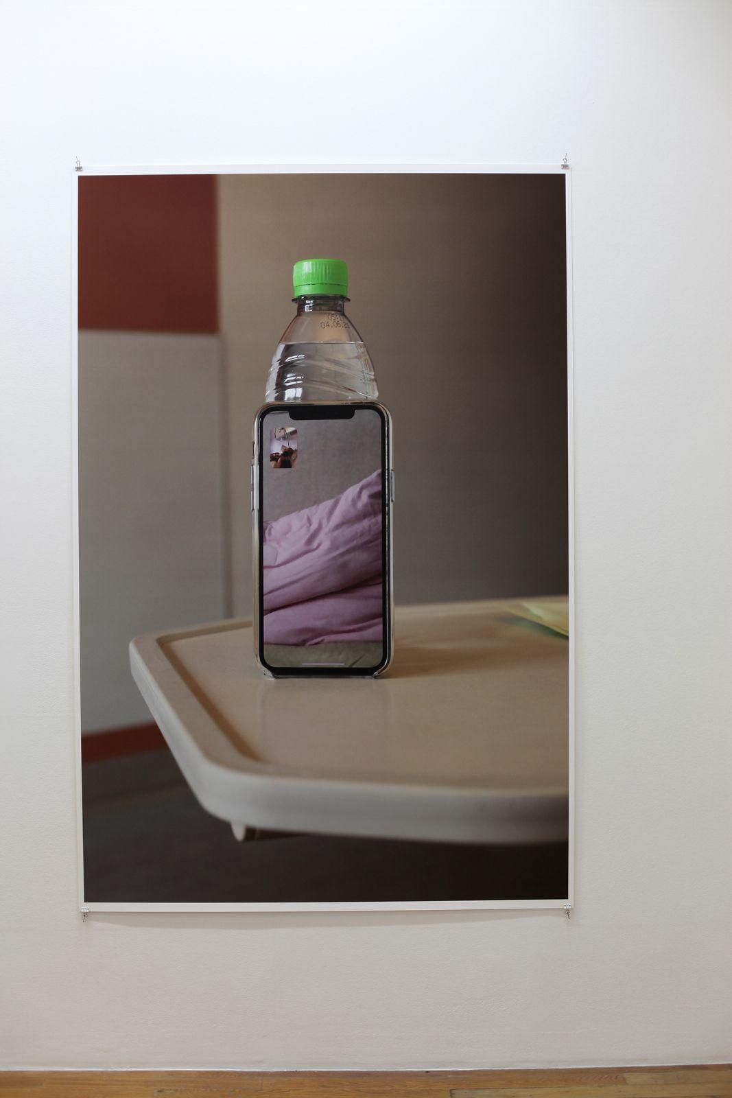 """""""Lüneburg (self)"""", 2020 de Wolfgang TILLMANS - Courtesy de l'artiste et de la galerie Crousel © Photo Éric Simo"""