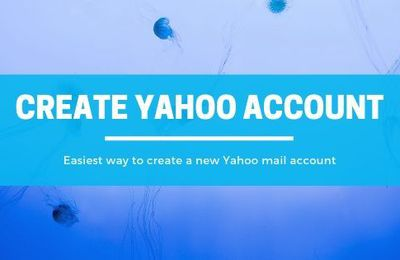How to create an email account with Yahoo
