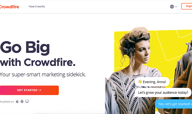 Crowdfire is a powerful Social Media Management tool for brands, businesses, agencies and individuals all around the world