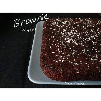 Brownie Chococo (vegan)