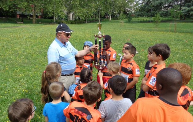 Le trophée du Fair-Play remis aux tigres de Charpennes Tonkin Tigers Rugby League
