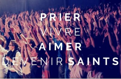 POUR DEVENIR SAINTS