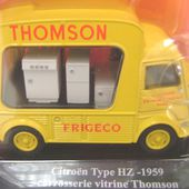 FASCICULE N°4 CITROEN TUB TYPE HZ 1959 VITRINE THOMSON - car-collector.net