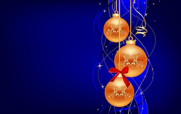 "Mini Kit de scrapbooking thème Noël (Christmas)  ""-Boules de noël (Christmas Balls)"""