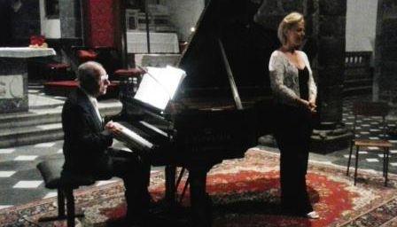 Festival Amfiteatrof, Levanto - Originale concerto con Antonio Ballista (piano) e Lorna Windsor (voce)
