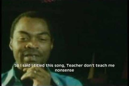 100 Commentaires : Fela Kuti on Colonial mentality