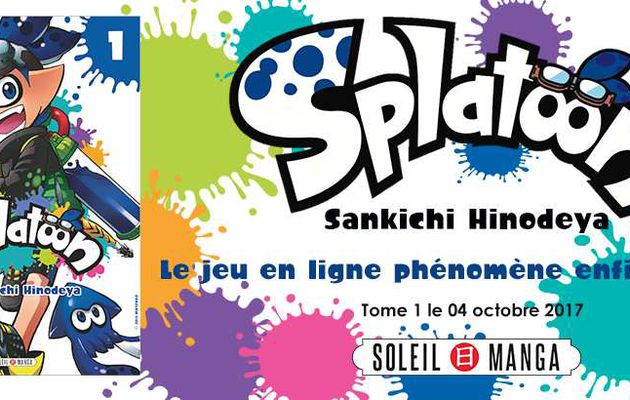 Le manga Splatoon