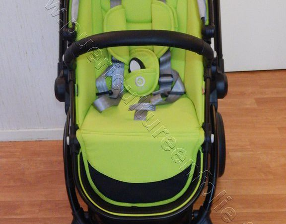 TEST POUSSETTE KIDDY EVOSTAR1 en mode mono / simple 2017