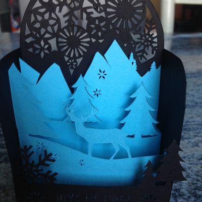 Kirigami - découpe et pliage papier...