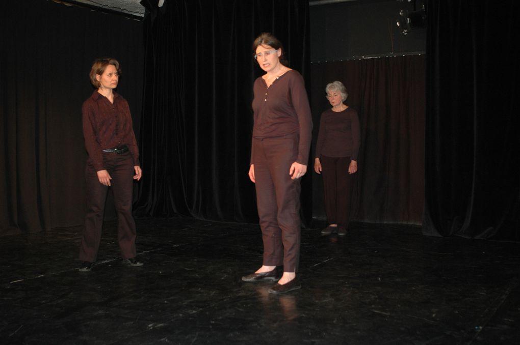 Spectacles de fin d'année et présentation de travaux, mises en scène d'Héloïse Martin et ou Pauline Klein