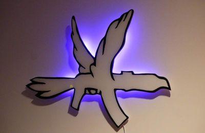 Applique murale Columbine - partie 2 suite et fin -