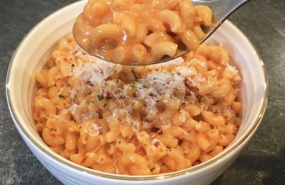 Le one pot pasta tomate-philadelphia